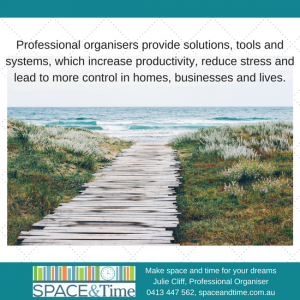 declutter and reduce stress