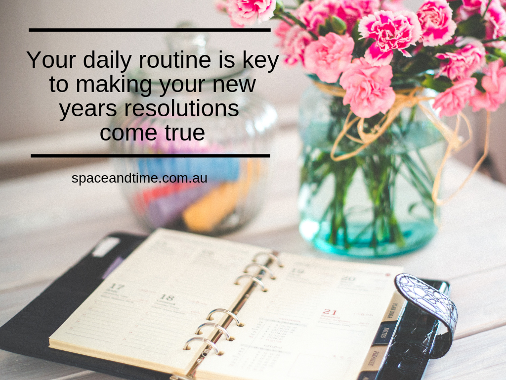 Daily routine key to success
