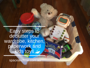 easy steps to declutter