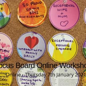 vision board online workshop