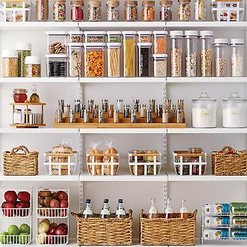 Pantry With Matching Containers Professional Organiser