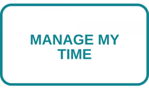 Manage my time