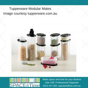 organise Tupperware