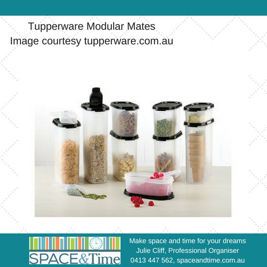 How to: store your plasticware with tips from a Tupperware