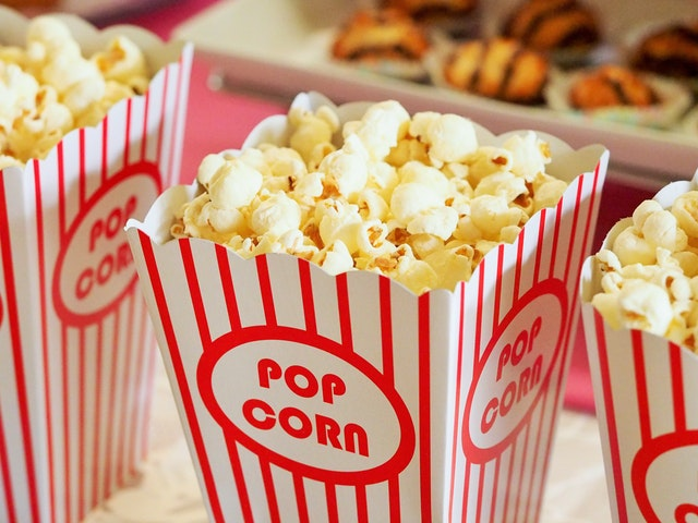 Make your own popcorn bag