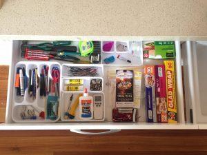 organise junk drawer