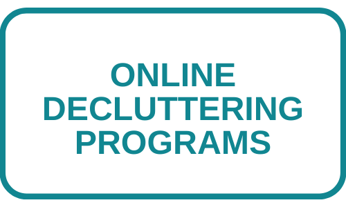 Button for online decluttering programs