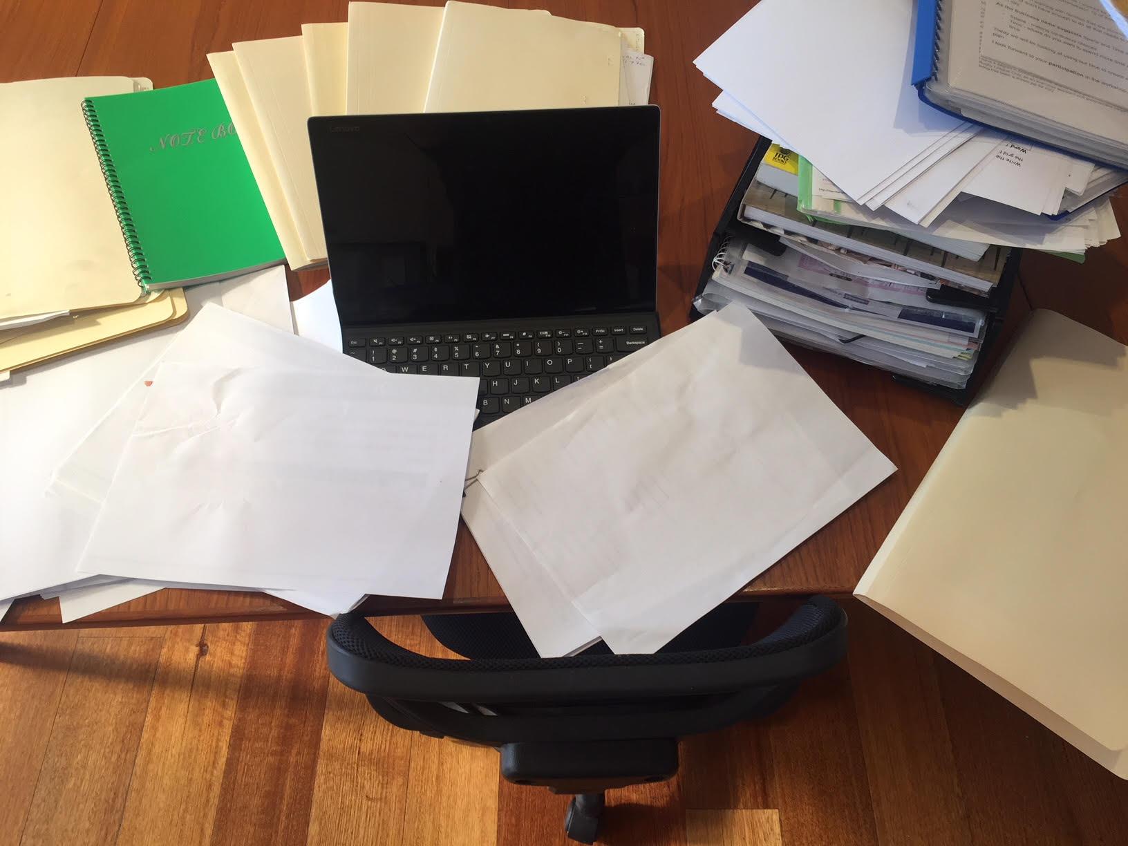 organise paperwork