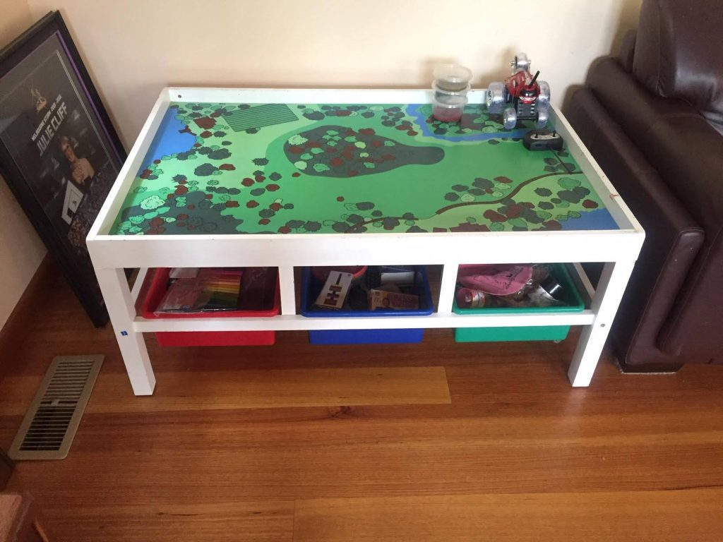 Toy table yearly overhaul
