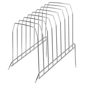 wire vertical file rack